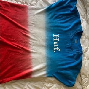 Red White And Blue Huf tee